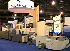 Smart-binder and Delphax printer